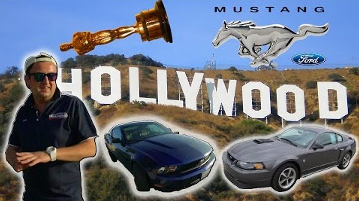 LA RIDES. 2 серия. Голливуд. Обзор Ford Mustang 2011 и Mach 1 2004