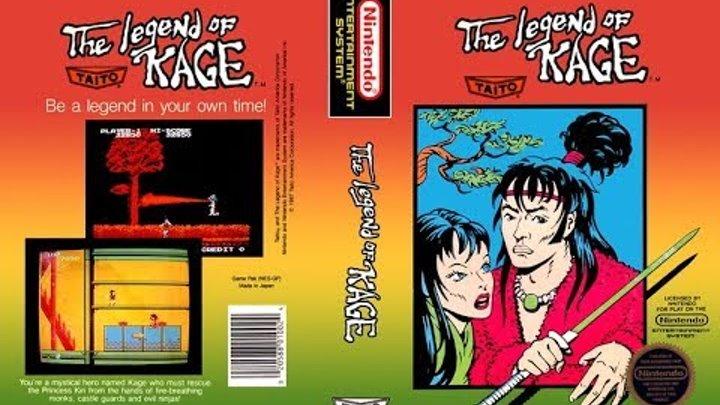 Прохождение Legend of Kage (NES)