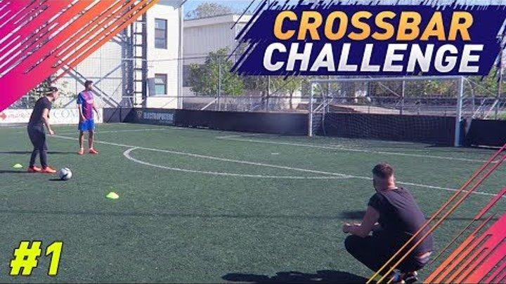 "SERIE NOUA - FOOTBALL CHALLENGES cu BERCEA SI LECTURA !!! EPISODUL 1 ""CROSSBAR CHALLENGE"""