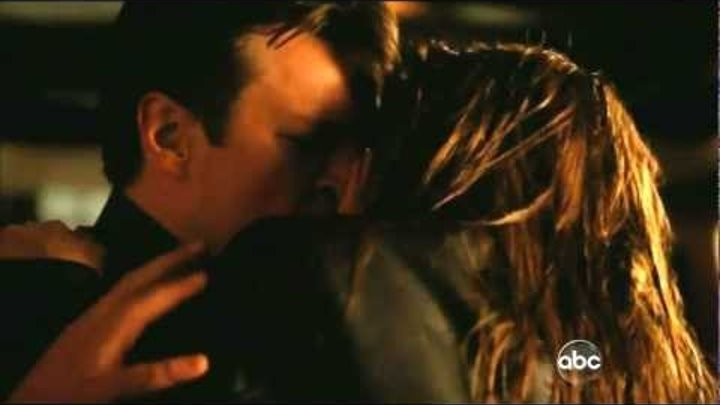 Castle 4x23 - Castle & Beckett Kiss - Always (Season finale end scene)