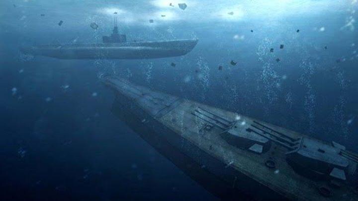 Охота на Линкор Ямато в Офигенном Симуляторе Подлодки Silent Hunter 4 на ПК !