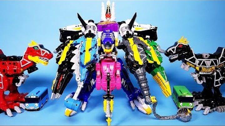 파워레인저 다이노포스 울트라 파워스피노킹 헬로카봇 또봇 타요 Power Rangers Dino Charge Ultra Power SpinoKing