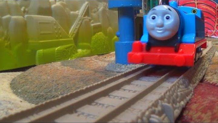 Паровозик Томас и его друзья - Железная дорога - Поезда - Видео для детей