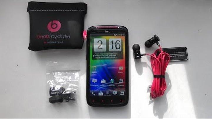посылки из Китая Aliexpress телефон HTC Sensation XE