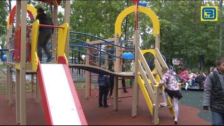 Две новые детские площадки открылись в Орехово-Зуеве 20 09 16