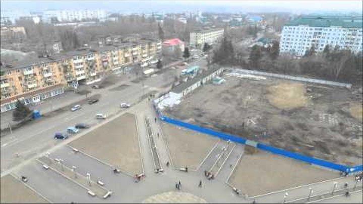 Вид с высоты полета. Арсеньев- Город- Авиастроитель