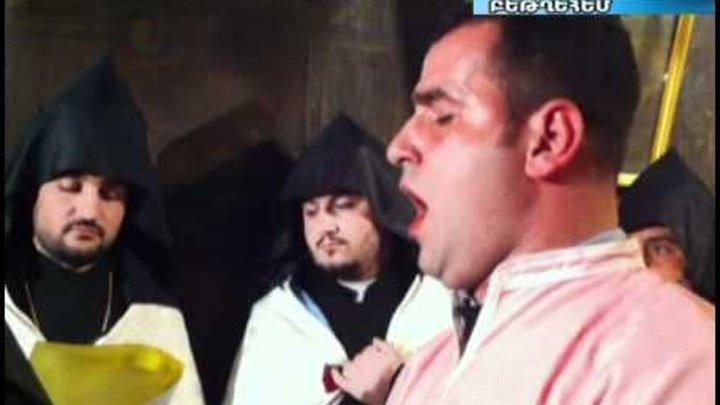 Քրիստոսի ծննդյան այրում հայ ուխտավորներ են