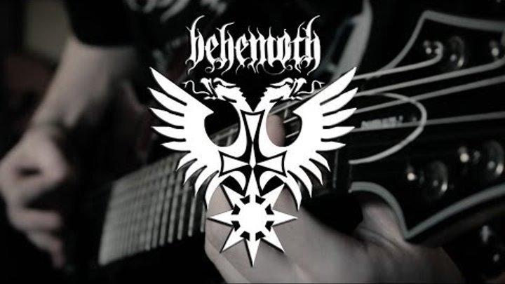 Behemoth - Chant For Ezkaton 2000 e.v. Guitar Cover By Siets96 (HD)