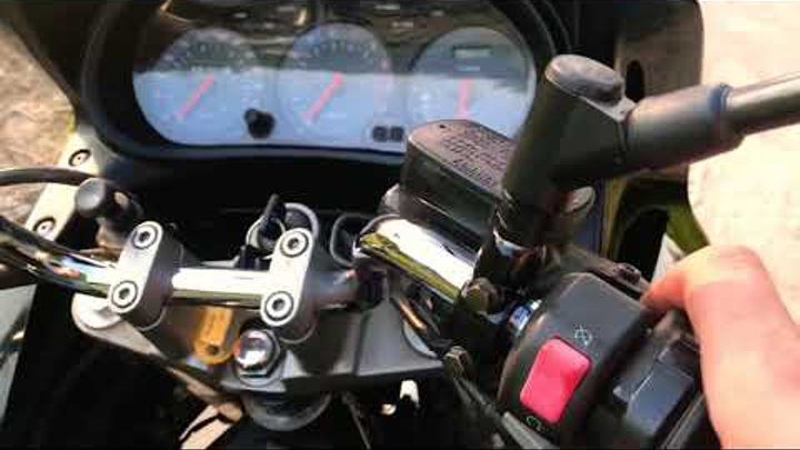 Yamaha XJ900S Diversion из Германии