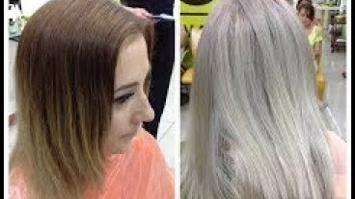 Из рыжего в пепельный блонд // From Brassy Ginger Blonde to Ash Blonde: Ash Blonde Hair Tu