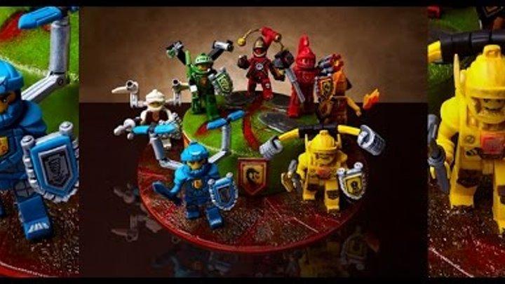 Торт на заказ Рыцари Lego Nexo Knights