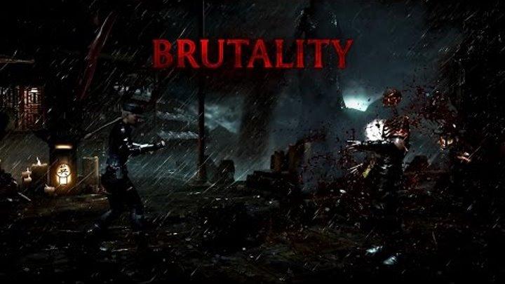 БРУТАЛИТИ Соня Блейд СМЕРТЕЛЬНАЯ БИТВА ИКС ЭЛЬ ПРЕМИУМ BRUTALITI Sonya Blade Mortal Kombat XL Premiu
