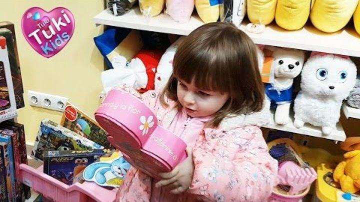 ✿ VLOG Шопинг в детском магазине покупаем игрушки Shopping in kid's toys store