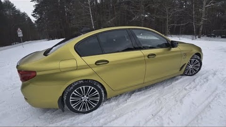 G30 BMW 5 СЕРИИ 2017. ТЕСТ-ДРАЙВ С ОЛИМПИЙСКИМ ЧЕМПИОНОМ ВЛАДИСЛАВОМ ГОНЧАРОВЫМ.