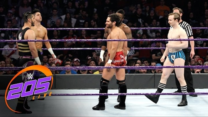 Fatal 5-Way Elimination Match for No.1 Contender to Cruiserweight Title: WWE 205 Live: Feb. 7, 2017