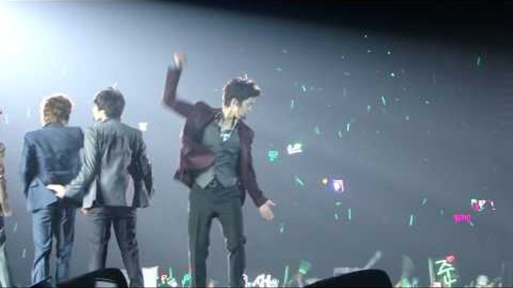 20091212 SS501 Asia tour persona in HK - u r man (joong's part)