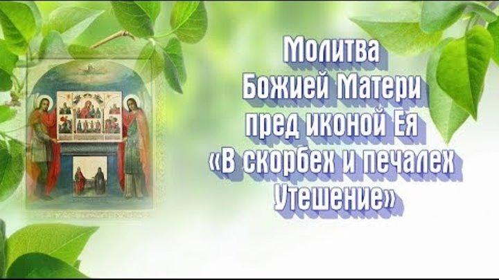 Икона Богородицы «В скорбех и печалех Утешение» - ПРАЗДНОВАНИЕ: 2 декабря (молитва)