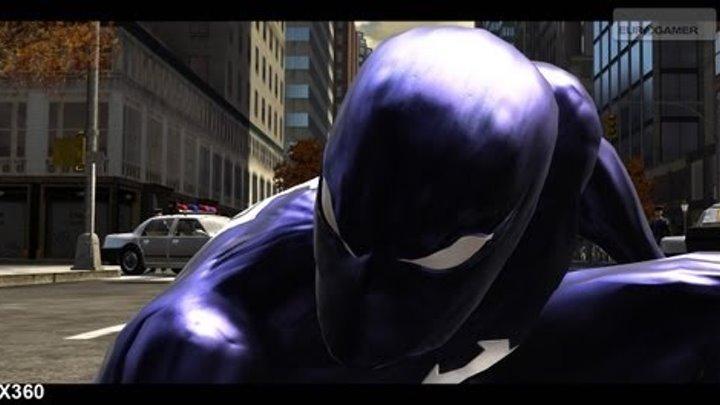 История черного Человека-Паука (Spider-Man Web of Shadows)