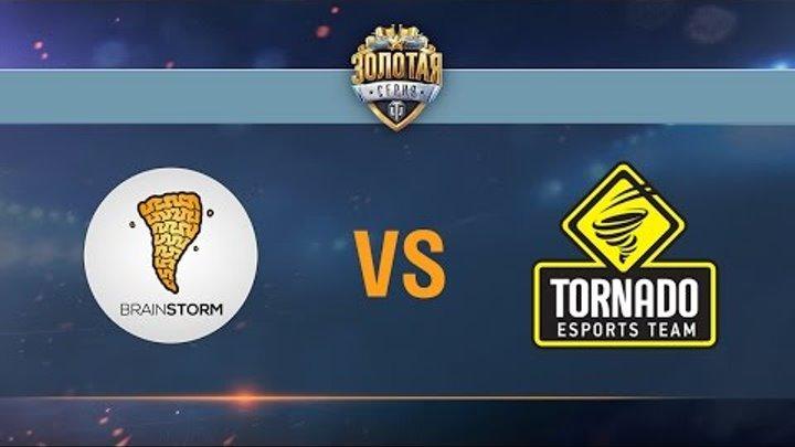 Brain Storm vs Tornado Energy - day 3 week 2 Season II Gold Series WGL RU 2016/17