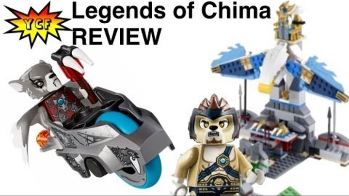 Chima Eagles Castle LEGO Speedorz Set Review 70011 Legends of Chima 2013