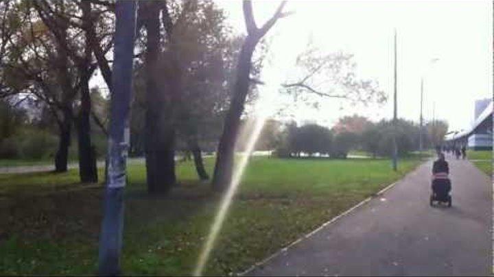 В солнечный день на велосипеде (Южное Бутово)