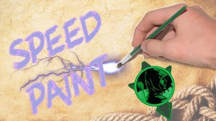 Tenкo| Зеленая стрела| Speed paint