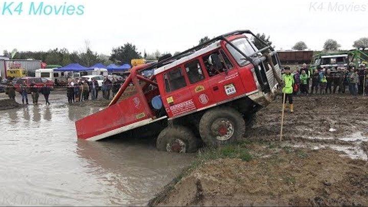 6x6 Truck Trial Tatra, Ural, Praga Off-Road Truck Competition | Milovice