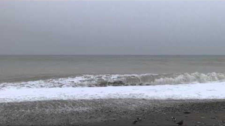 """""""Уж небо осенью дышало""""... Погода в Лазаревском 2 ноября t +9°C, вода t +17,5°С. SOCHI RUSSIA"""