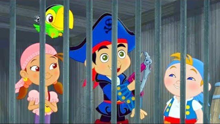 Джейк и Пираты Нетландии - Тайна Могучего Колосса/ Дождь из дублонов - серия 4, сезон 4 Disney