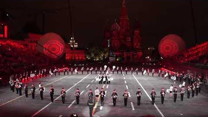 Оркестр суворовцев Московского военно-музыкального училища (Спасская башня 2017)