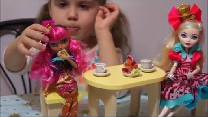 Обзор куклы Джинджер Бредхаус из Эвер Афтер Хай Ginger Breadhouse Ever After High