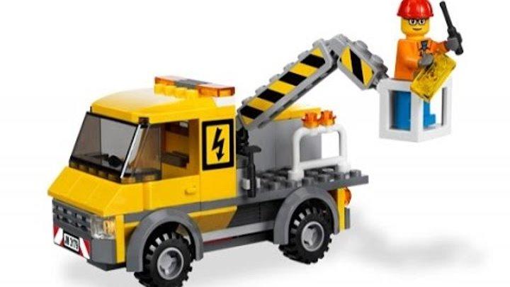 Lego city.Как собрать ассенизаторскую машину Lego