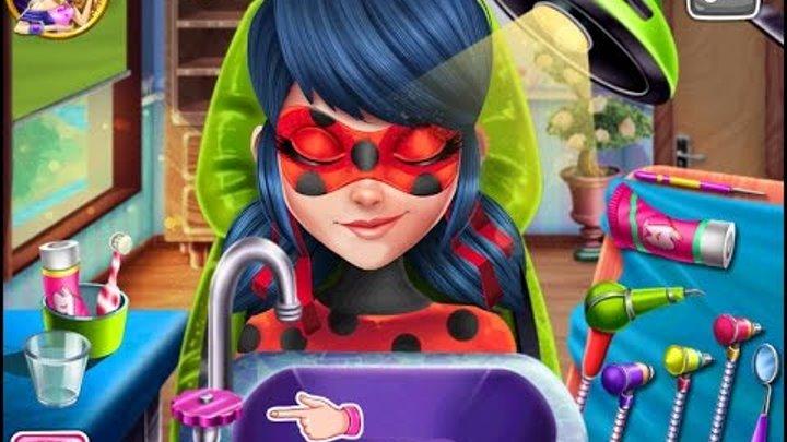 NEW мультики для девочек про принцесс—ЛЕДИБАГ У СТОМАТОЛОГА—Игры для детей/Miraculous Hero Re