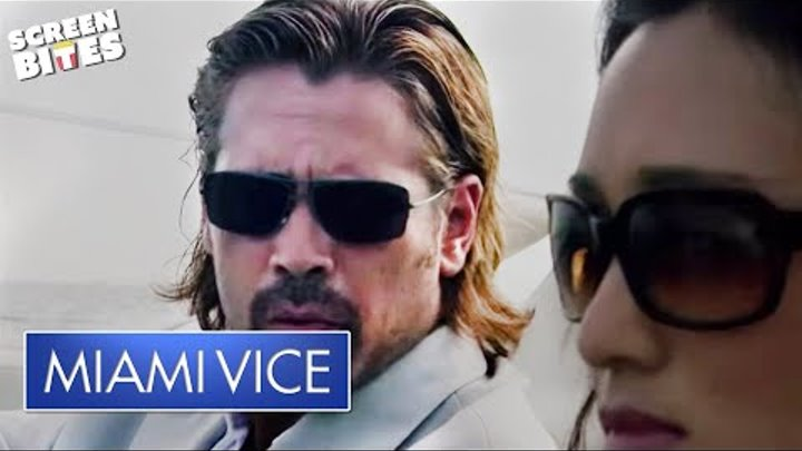 Miami Vice - Colin Farrell speedboat scene OFFICIAL HD VIDEO