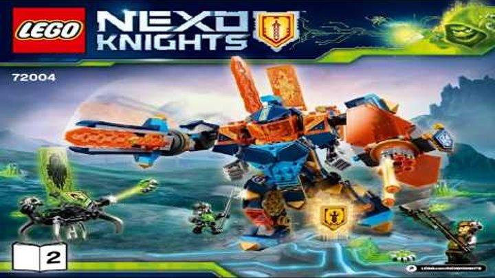 LEGO Nexo Knights 2018 TECH WIZARD SHOWDOWN 72004 Лего Нексо Рыцари Решающая битва роботов #2