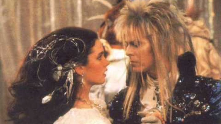 David Bowie - Labyrinth - As the World Falls Down WITH TEXT LYRICS