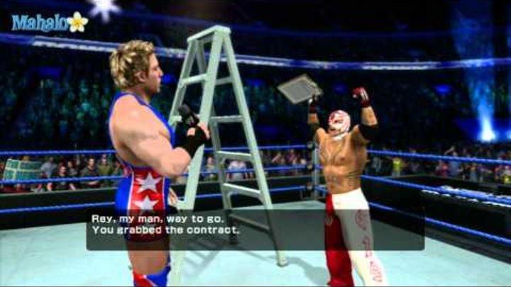 Smackdown Vs Raw 2011 - Road to Wrestlemania - Rey Mysterio Ladder Match 2