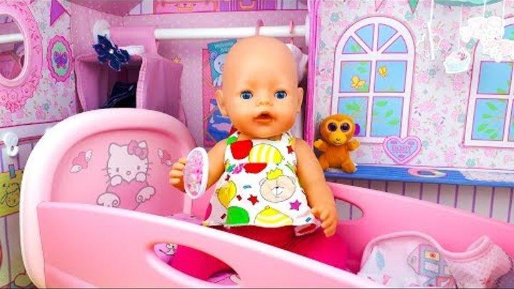 СБОРНИК про кукол Baby Born. КУКЛА КАТЯ попала в Кукольный домик Беби Бон. Куклу ОБИДЕЛИ