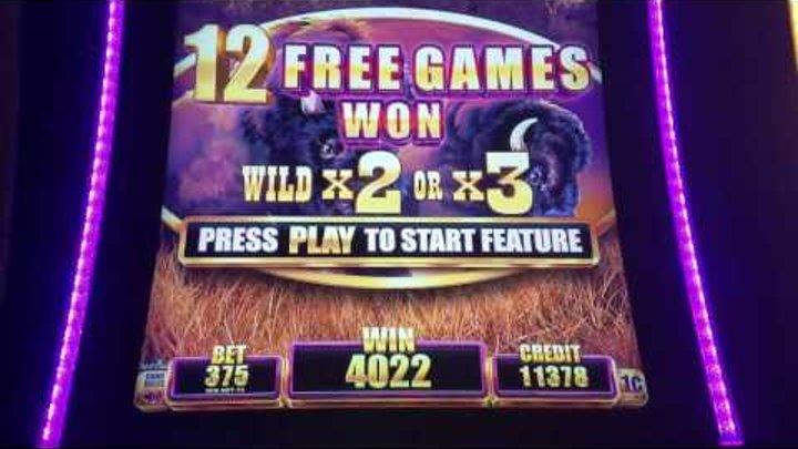 30 Minutes of BUFFALO GRAND Slot Machine ✦ LIVE PLAY w/Bonuses ✦ LONG Videos