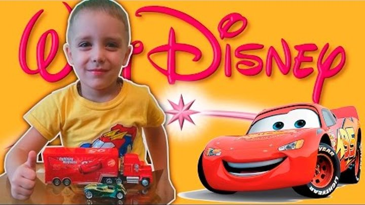 Распаковка посылки из Китая Disney Pixar Cars Lightning McQueen 95 Makvin Тачка молния Макуин Маквин