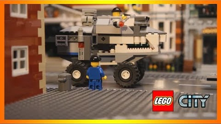 Лего Шахта - пожиратель кирпичей (Видео Лего Сити - Lego City)