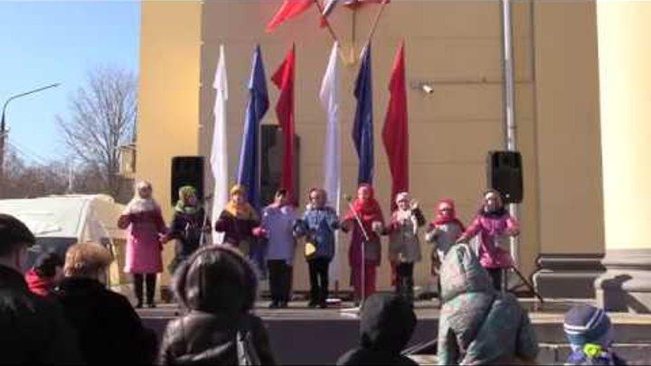 Веретено, Праздник Весны, ДиКЦ Костино, г. Королев, 18 марта 2018 года