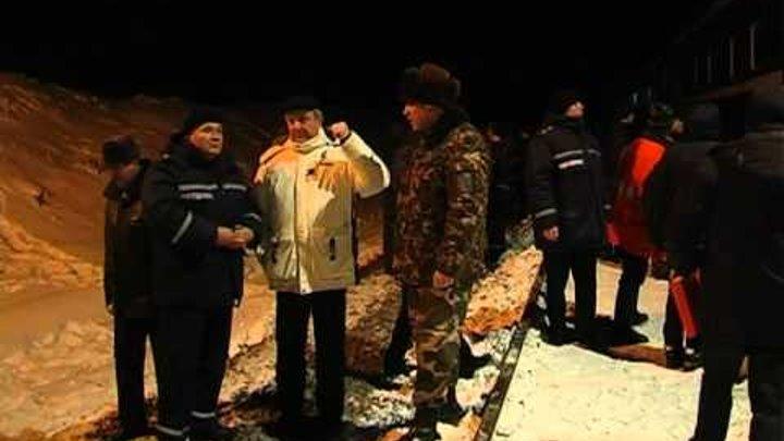Ликвидация аварии поезда в Сумской области
