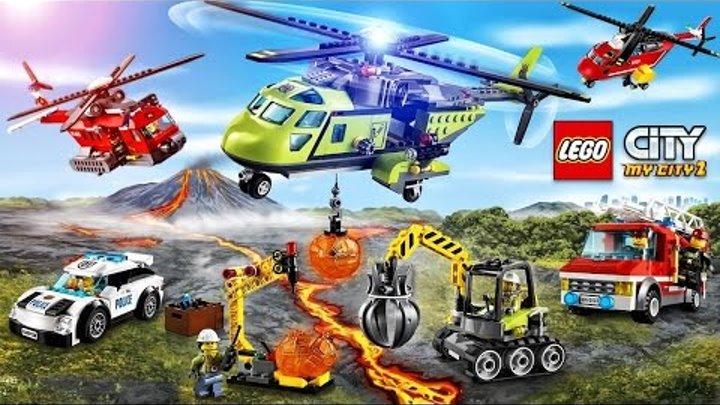 Мультфильмы LEGO City про МАШИНКИ 3 серия, Мультики про машинки Super Транспорт