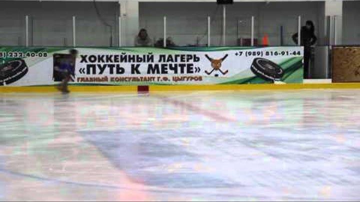"Программа ""Юный фигурист"" Окладникова Стефания 2009 г.р. 1-е место"