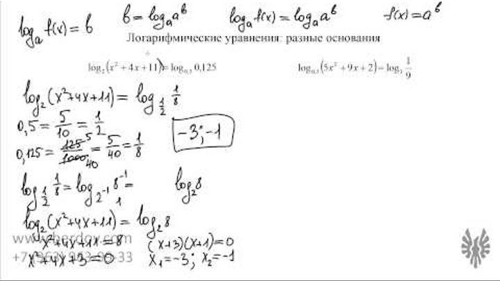 Знаком скобках изменением свойства в логарифмов с