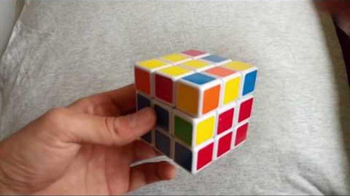 САМЫЙ ПРОСТОЙ СПОСОБ как собрать кубик рубика 1#
