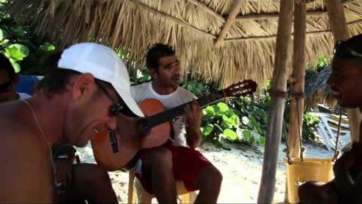 Cuban lifeguards. Кубинские спасатели. Тяжкие будни)