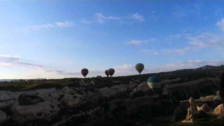 Фантастический полет на воздушном шаре в Каппадокии