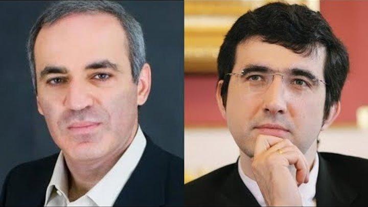 Крамник против Каспарова: ошеломляющая жертва ферзя!